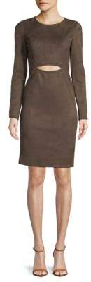 BCBGMAXAZRIA Long-Sleeve Cutout Dress