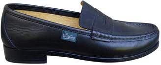 Paraboot Black Leather Flats