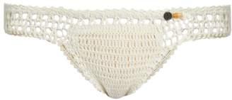 She Made Me Essential Mini Hipster crochet bikini briefs