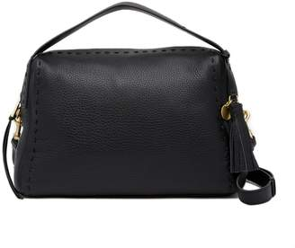 Cole Haan Ivy Pic-Stitch Collection Leather Satchel