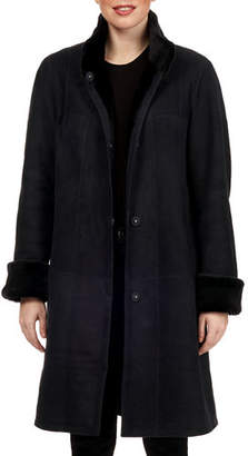 Gorski Tiffany Reversible Lamb Shearling Coat
