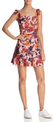 Finders Keepers Rhapsody Floral Print Mini Dress
