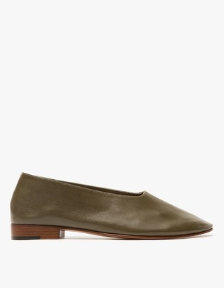 Glove Shoe in Olive $456 thestylecure.com