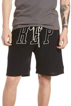 REPRESENT Regular Fit Basketball Shorts