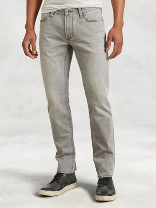 Bowery Stonewash Cotton Jean $198 thestylecure.com
