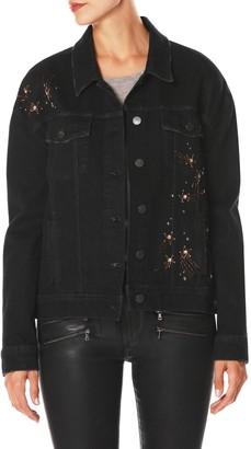 Paige Rosie HW x PAIGEJosephine Embellished Boyfriend Denim Jacket