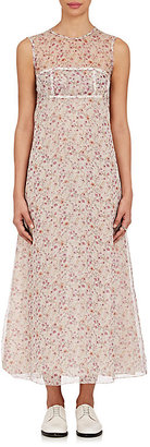 Calvin Klein Women's Floral Silk Column Dress $2,995 thestylecure.com