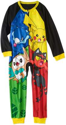 Pokemon Boy Sleeper Blanket Pajama Size 10/12