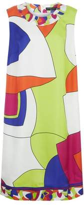 Marina Rinaldi Sleeveless Printed Dress