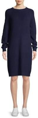 Core Life Knit Long-Sleeve Shift Dress