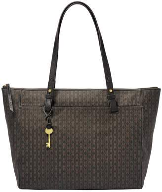 Fossil Rachel Printed Cotton Canvas Tote