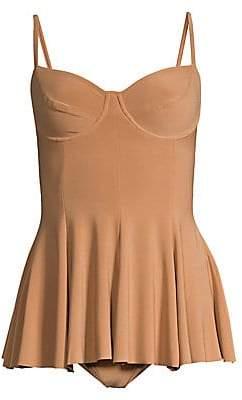Norma Kamali Women's Two-Piece Swim Dress Set