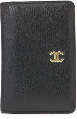 Chanel (シャネル) - Luxury Brands Vintage Bags & Accessories CHANEL レザー カードケース ブラック