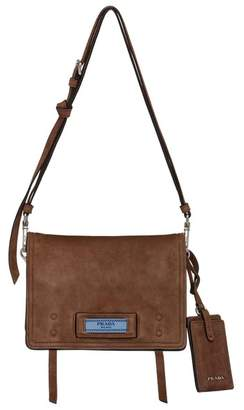 aca7afed2968 at Orchard Mile · Prada Etiquette Suede Shoulder Bag