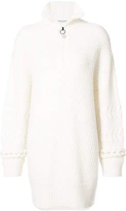 Opening Ceremony knitted zip-collar dress