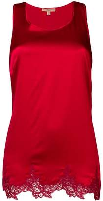 Ermanno Scervino sleeveless fitted blouse