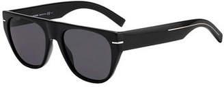 Christian Dior Men's Flat-Top Acetate Sunglasses