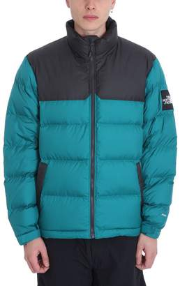 The North Face Green Nylon Down Jacket