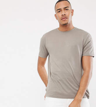 BEIGE Asos Design ASOS DESIGN Tall relaxed fit t-shirt with crew neck in