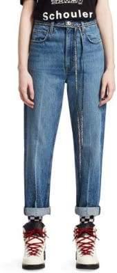 Proenza Schouler PSWL Hi-Rise Convertible Jeans