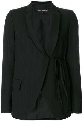 Ter Et Bantine tie waist blazer