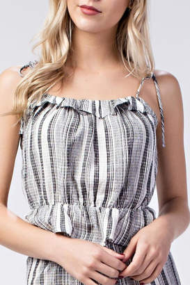 Honey Punch Macie Striped Top