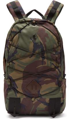 Polo Ralph Lauren Camouflage Print Technical Backpack - Mens - Camouflage