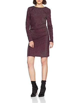 Vila CLOTHES Women's Vilibbo L/s Dress,8 (Size: X-Small)