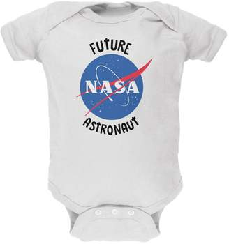 Old Glory Future NASA Space Astronaut Soft Baby One Piece - 0- months
