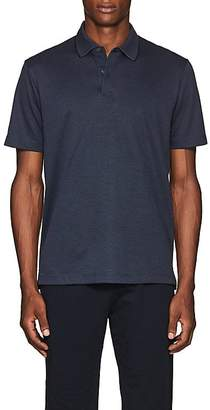 Theory Men's Cotton-Blend Piqué Polo Shirt
