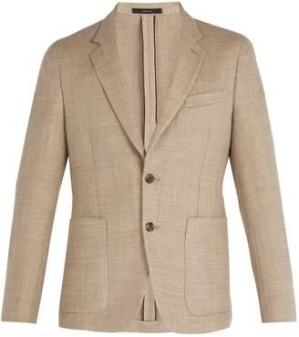 Paul Smith Single-breasted wool-blend blazer