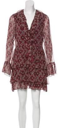 Cinq à Sept Silk Patterned Dress