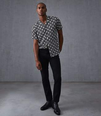 Reiss Armatage Diamond Printed Shirt