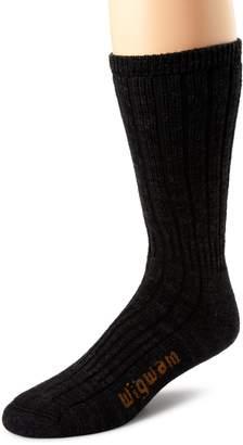 Wigwam Men's Merino/Silk Hiker Heavyweight Crew Socks
