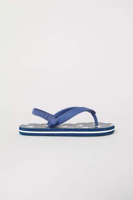 H&M Flip Flops - Blue