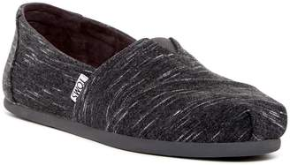 Toms Forged Iron Heathered Jersey Slip-On Shoe