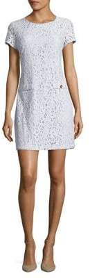 Tommy Hilfiger Lace Embroidered Mini Dress