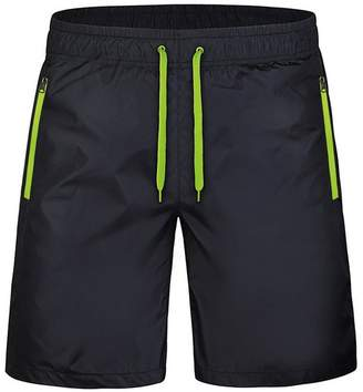 Trunks GARQEN Quick Dry Shorts Men Casual Summer Shorts Pocket Beach Breathable Shorts XL