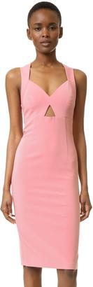 alice + olivia Hera Racer Back Dress $396 thestylecure.com