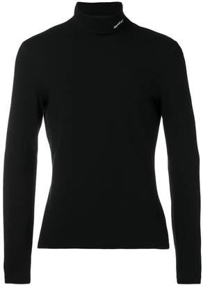 Calvin Klein logo polo neck