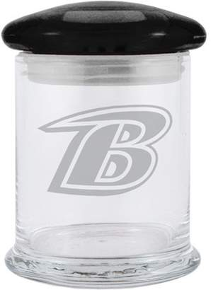 12oz NFL Baltimore Ravens Glass Candy Jar