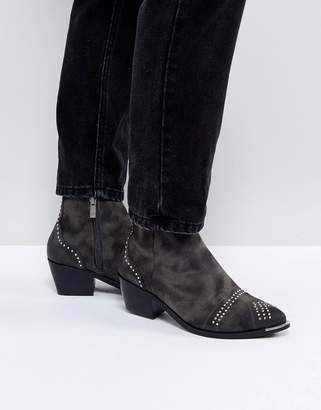 Pieces Studded Ankle Boots