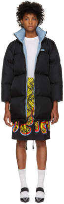 Prada Black Zipped Down Jacket