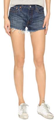 Levi's 501 Shorts $58 thestylecure.com