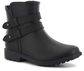 Chooka Midtown Strappy Ankle Rain Boot
