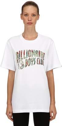 Bbc-Billionaire Boys Club Reflective Logo Printed Jersey T-Shirt