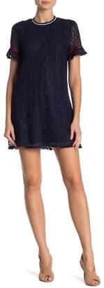 Hazel Short Sleeve Lace Dress