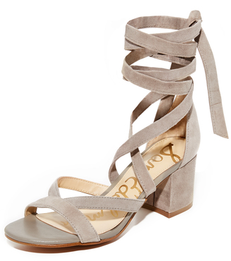 Sam Edelman Sheri Suede City Sandals $120 thestylecure.com