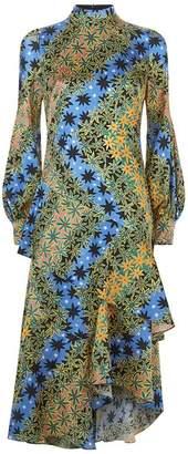 Peter Pilotto High Neck Midi Dress