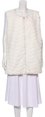 Save The Duck Faux Fur Reversible Vest w/ Tags